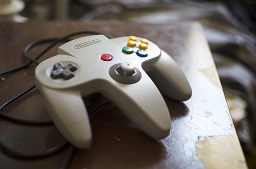 N64. Yes, I absolutely will beat you at Mario Kart, Smash Bros, and F-Zero X.