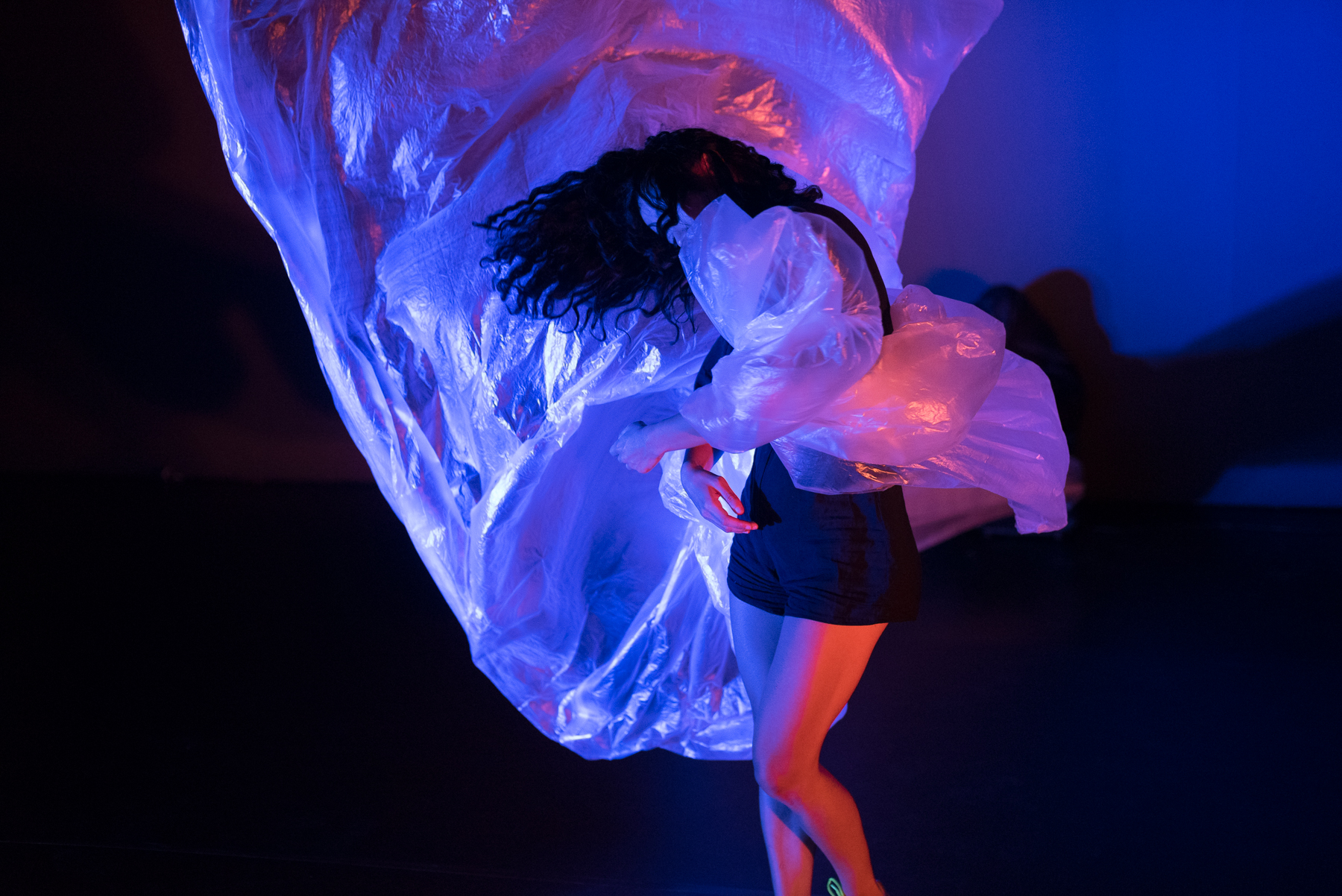 Kristina Chan, A Faint Existence, Performance Space, Carriageworks. Photo Lucy Parakhina