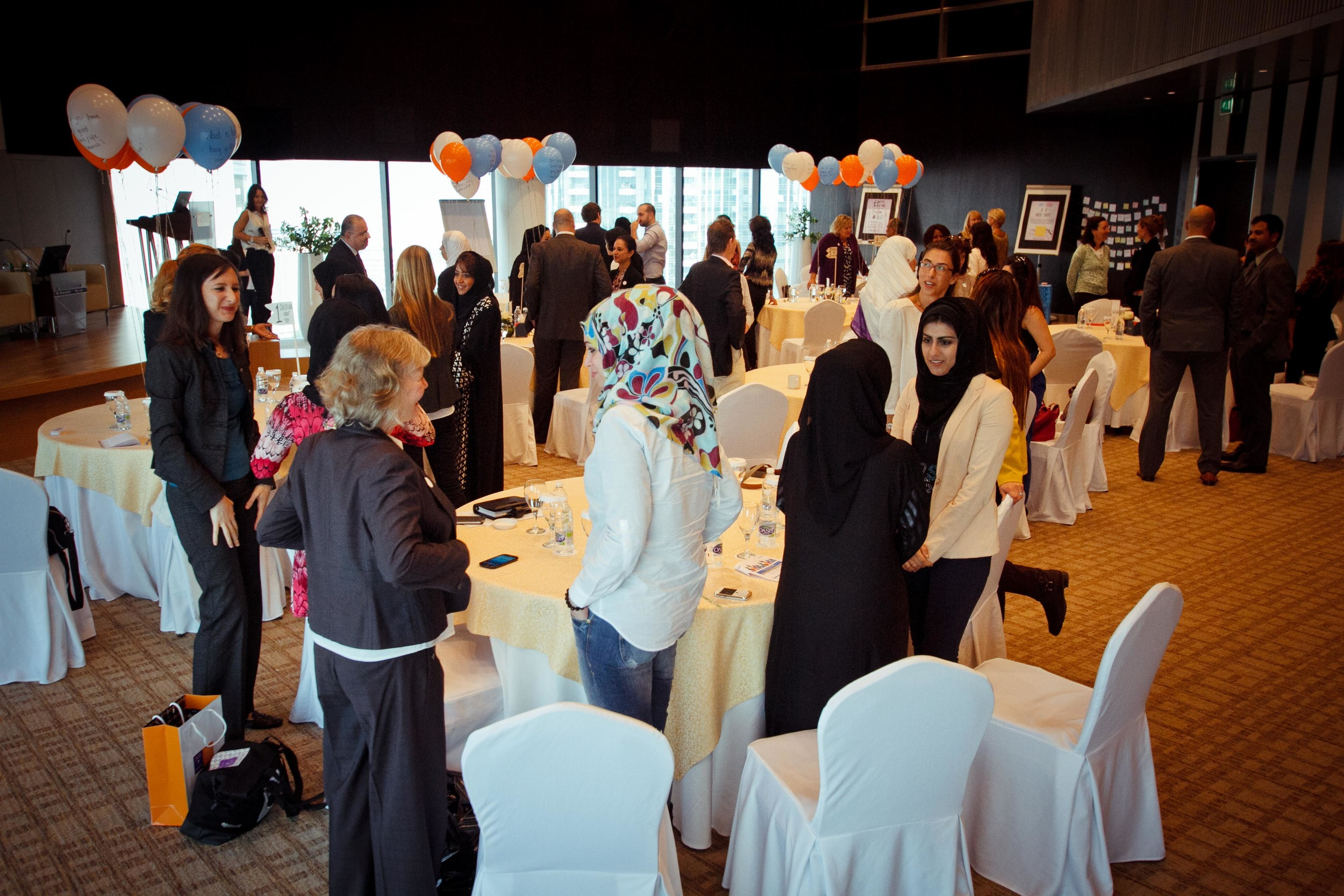 Engage Dubai Fair | #TheConversationChair style networking session