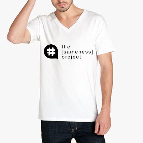 the [sameness] project t-shirt.