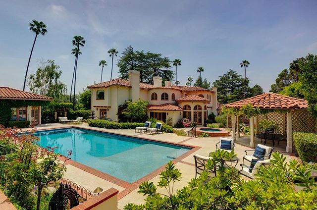 10-2 Today! Come see this spectacular Spanish estate in Altadena. Complete with 2 guest homes, a fruit orchard, saltwater pool, and much more! Catering by Tacos Chihuahua. 2101 Midlothian Drive, Altadena CA #compass #altadena #jermayneshannonrealestate #thejermayneshannongroup #launchedatcompass