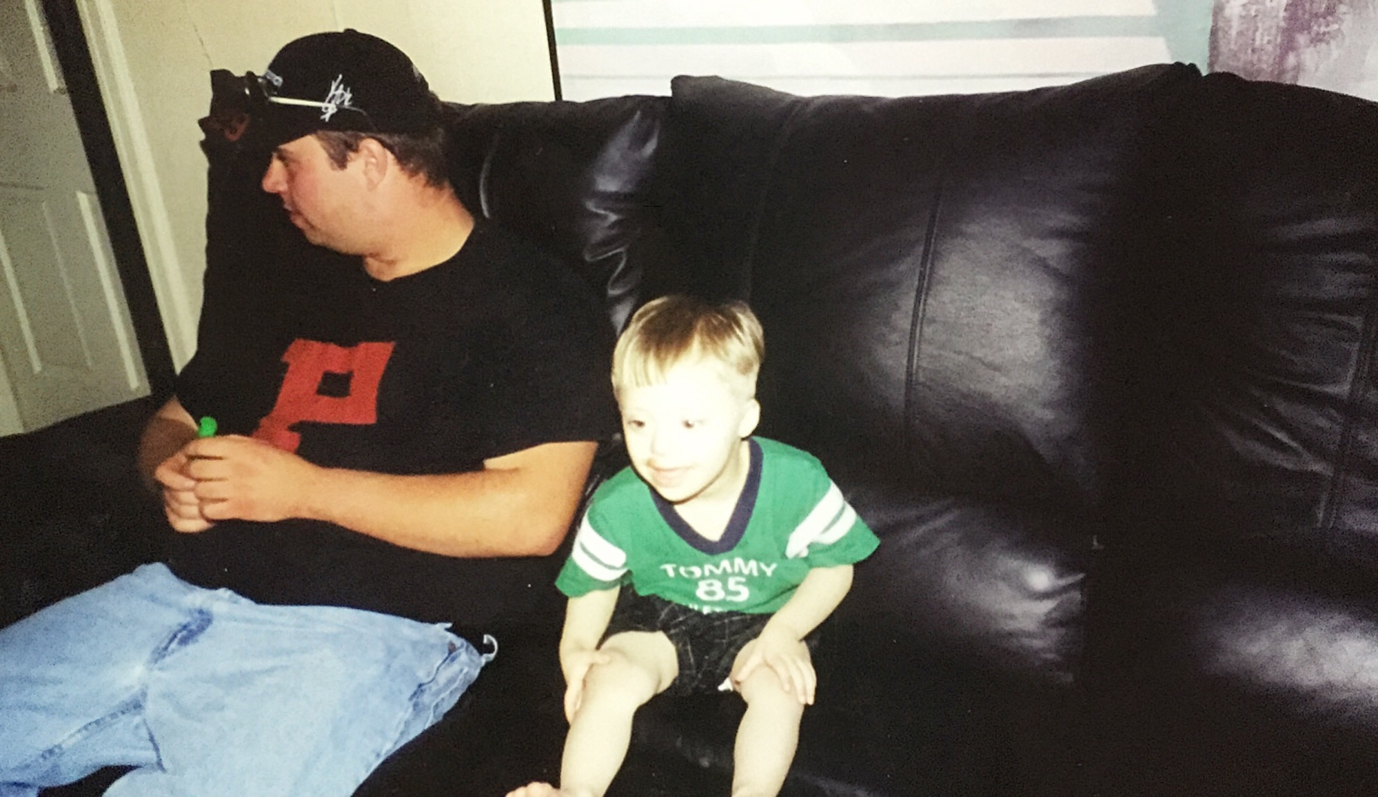 Me and my late brother Jarrett. Miss you buddy.