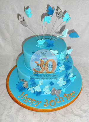 Butterfly Themed Cake