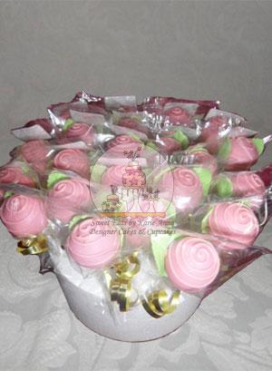 In Bloom Cake Pops