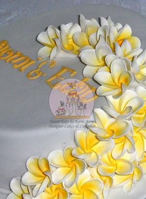 Frangipanni Wedding Cake