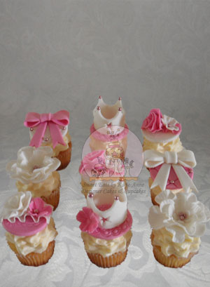 Elegant Princess Cupcakes