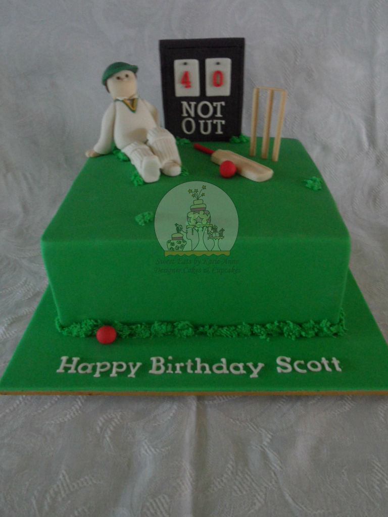 A day at the Cricket Cake