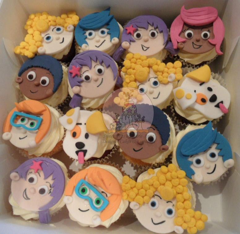Bubble Guppie Cupcakes