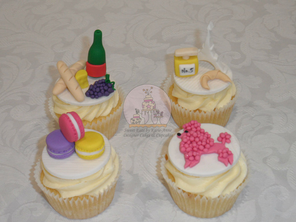 French Inspired Cupcakes