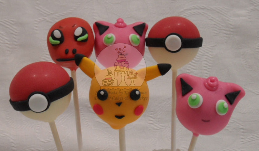 Pokemon themed Cakepops
