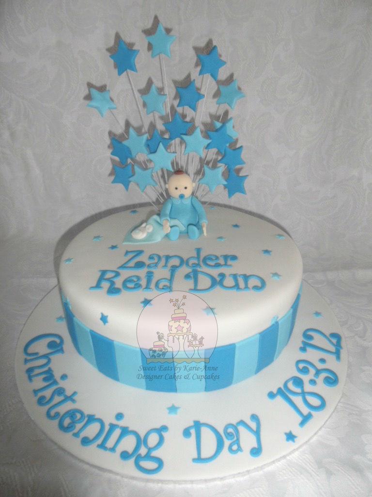 Zanders Christening Cake