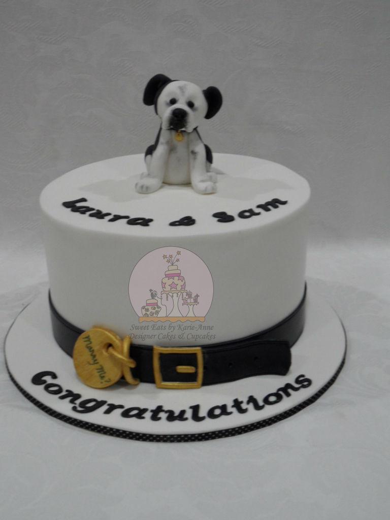 Laura & Sams Engagement Cake