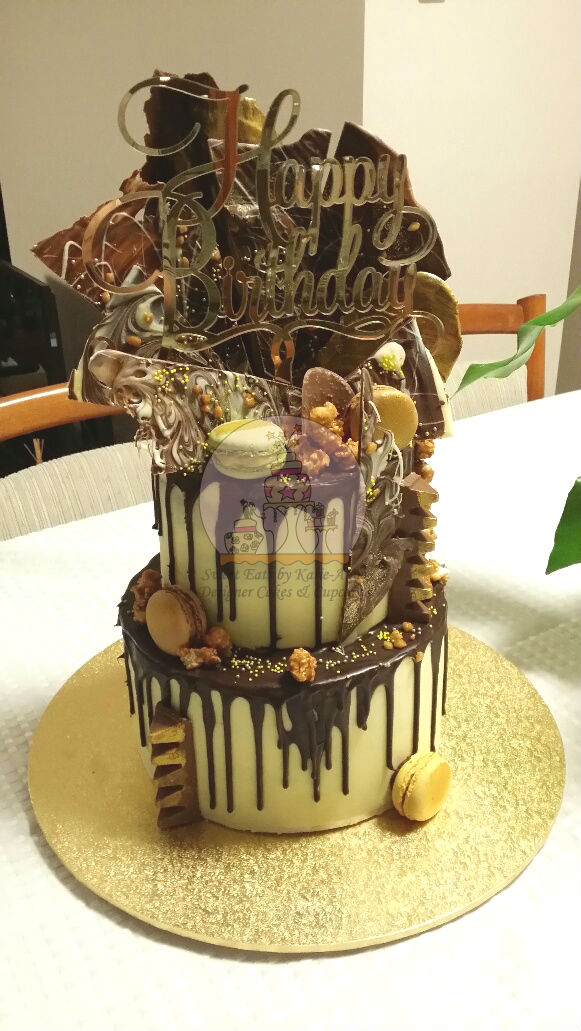 60th Death by Chocolate Drippy Cake
