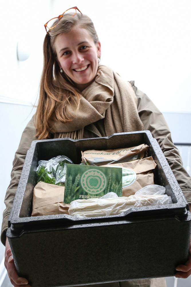 Frischepost, Start-Up aus Hamburg. Lebensmittel-Lieferung. ©Susanne Baade, SUSIES LOCAL FOOD