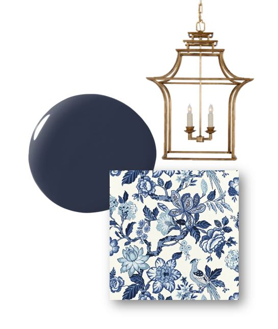 drawing room blue palette