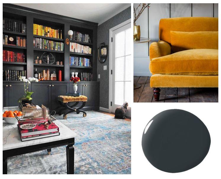 Bee's Knees Interior Design Hague Blue Mood board