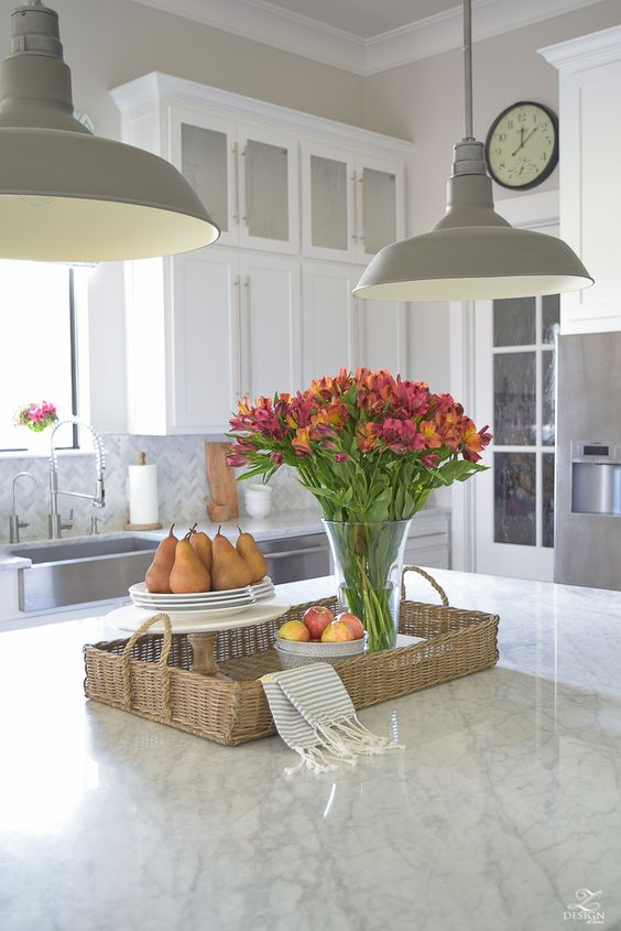 Designer Tips: How To Decorate Your Kitchen Island -Bee\'s ...