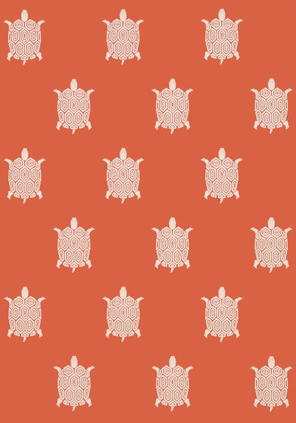 Thibaut  T5769  TURTLE BAY, Coral