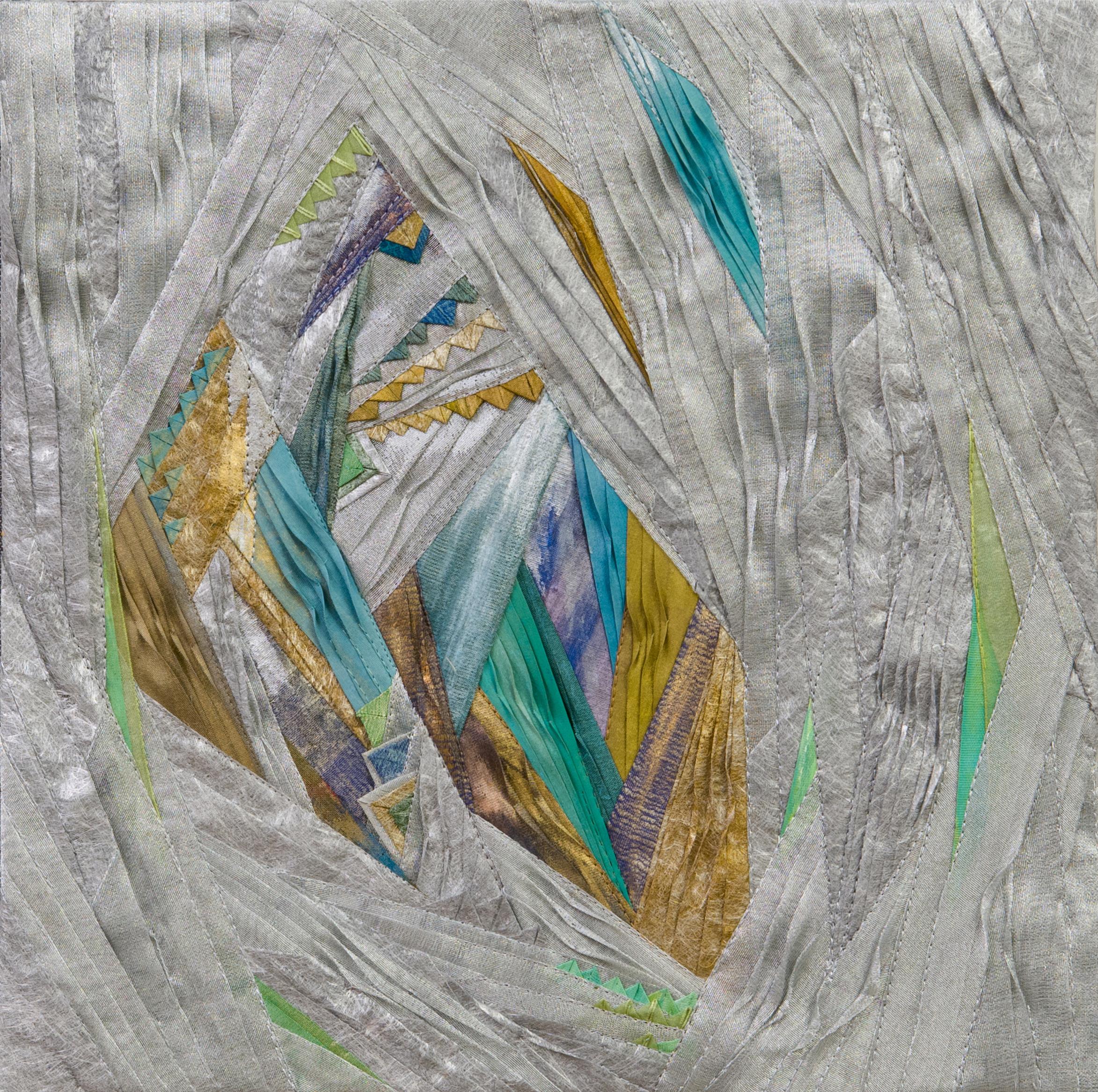 "Sagrada Familia # 9, 12"" x 12"""