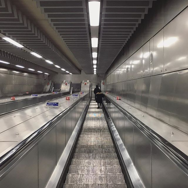 Lights and lines.  #lights #lines #travel #london #underground