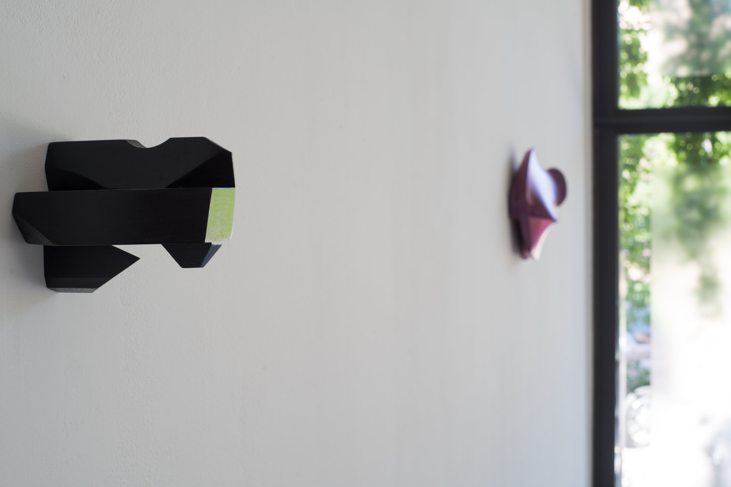 Dye and Shellac on  Walnut, 4.25 x 4.5 x 4.75 inches