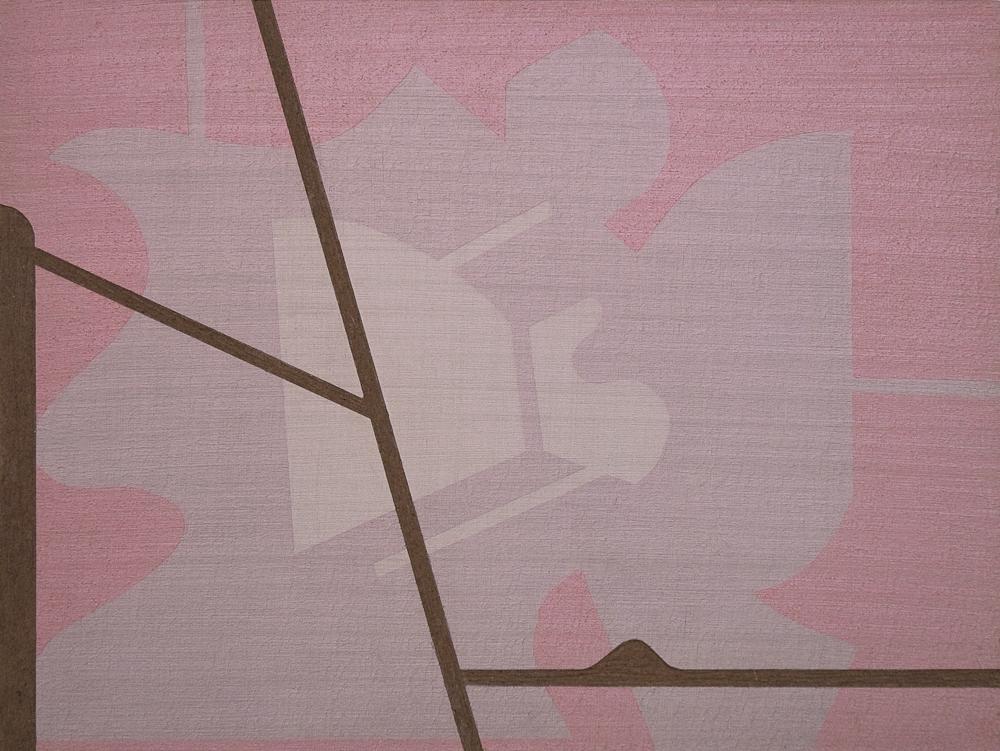 acrylic on masonite, 9 x 12 inches