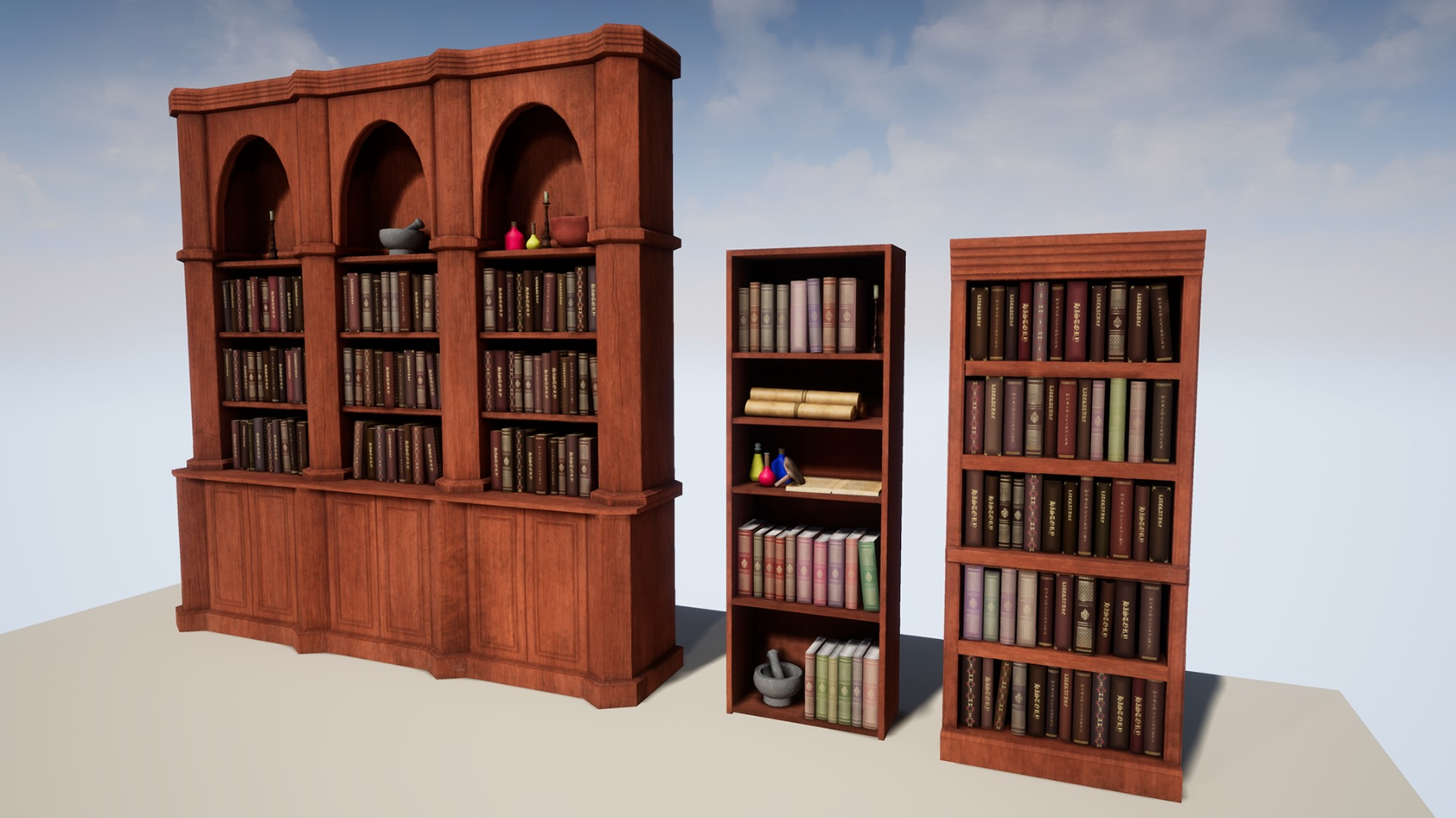 https://www.unrealengine.com/marketplace/enchanting-book-collection