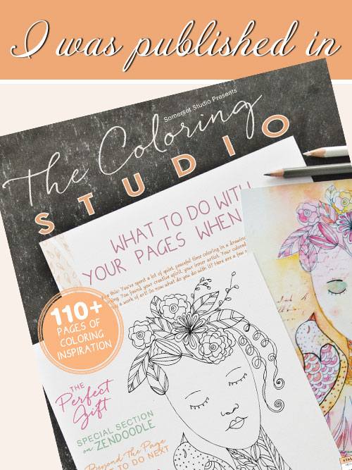 THE COLORING STUDIO MAGAZINE BY SOMERSET - PREMIER ISSUE, FALL 2015