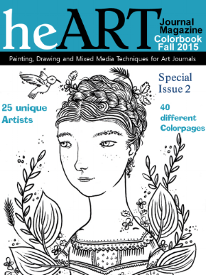 heart journal magazine colorbook - fall 2015