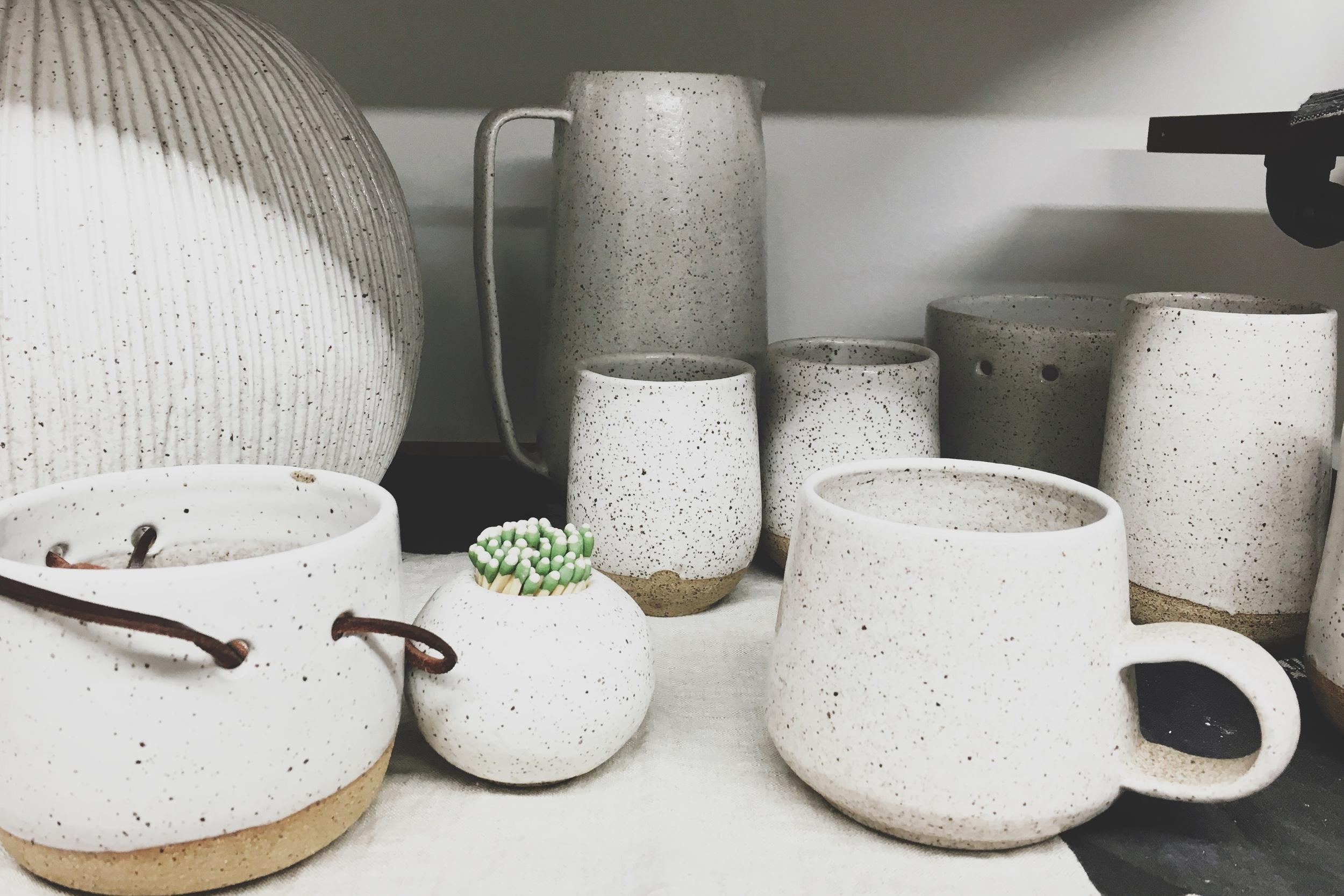 Myrth Ceramics Studio Tour with Print Club Ltd. www.jointheprintclub.com