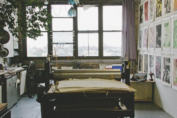 Print Club Ltd. visits Prints of Darkness, Brooklyn. www.jointheprintclub.com