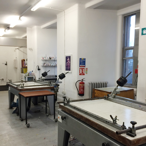 Print Club ltd. visits the Glasgow School of Art www.jointheprintclub.com