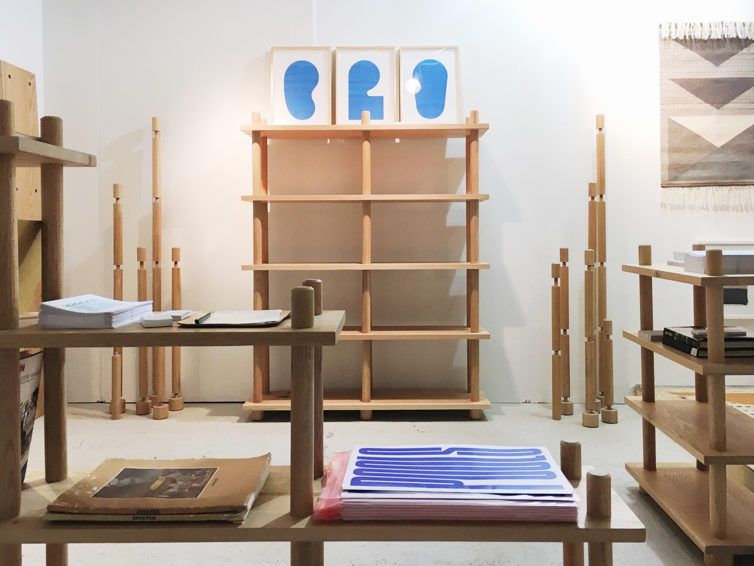 "A modular, ""hardwareless"", Flatpack shelving system from  Norma"