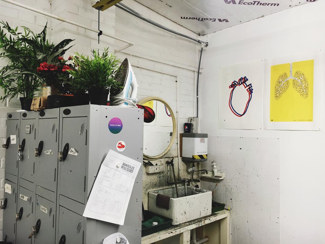 Studio Visit: Sonsoles Print Studio, London on the Print Club Ltd. Journal