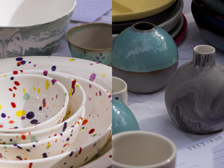 Felt and Fat  ceramics