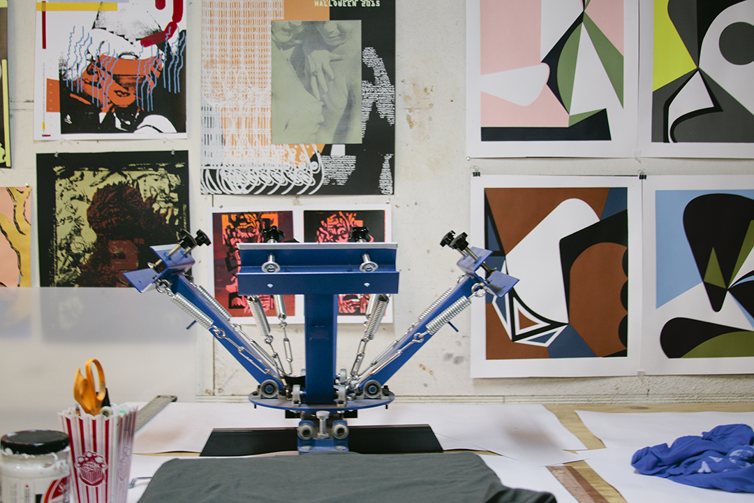 Studio Visit with Heavy Gel in LA on Print Club Ltd. Journal