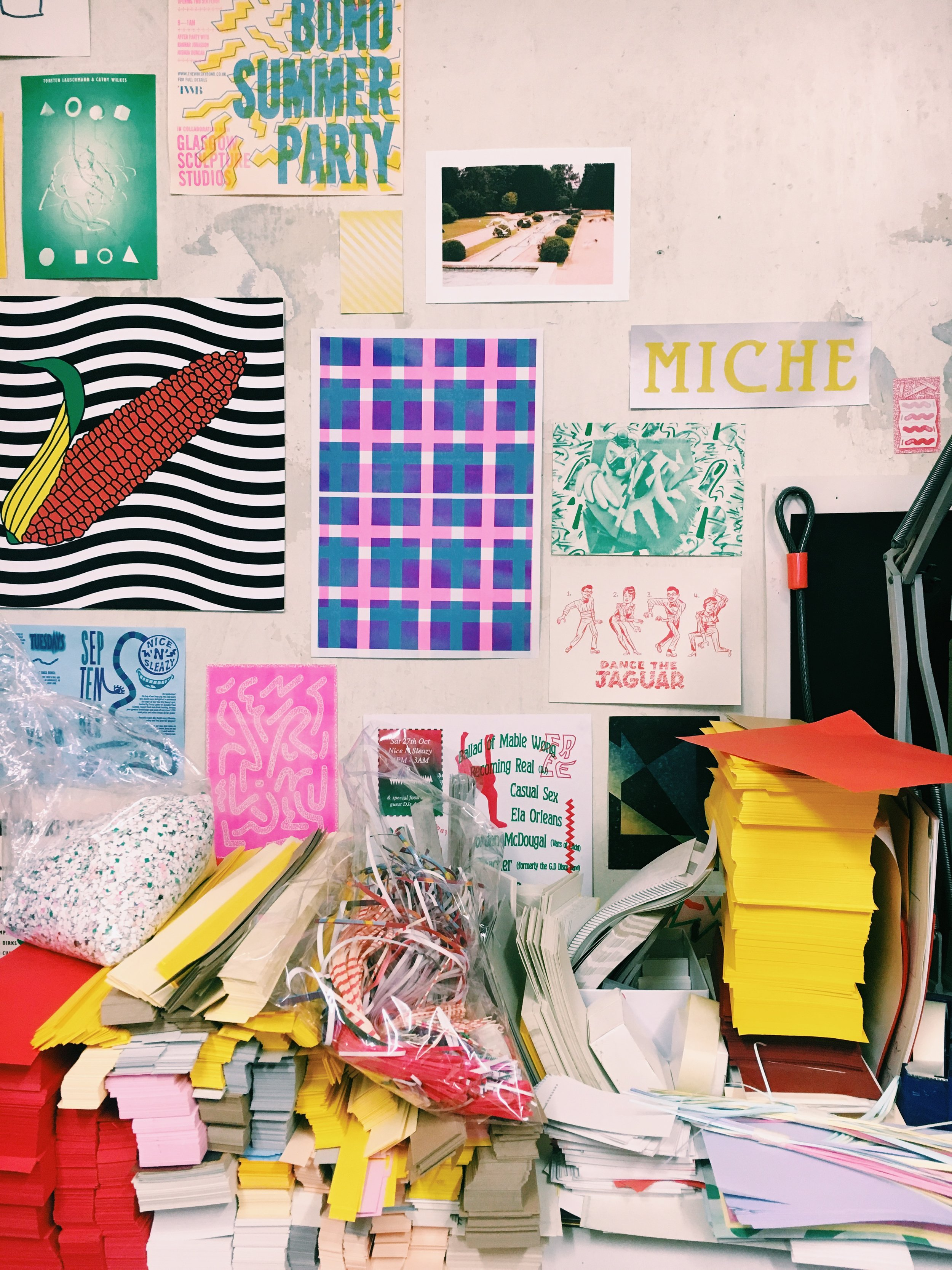 Studio Visit: Risotto Studios, Glasgow on the Print Club Ltd. Journal