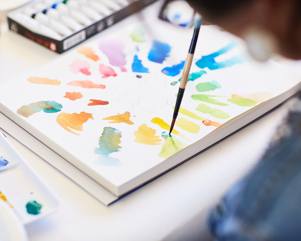 Watercolor Workshop at Casa Joshua Tree
