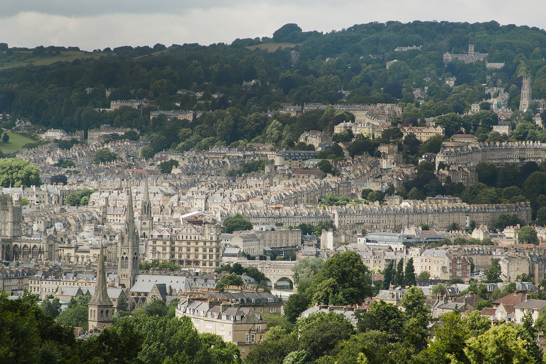 Print Club Visits Prior Park - View of the city of Bath | Print Club Ltd. Journal