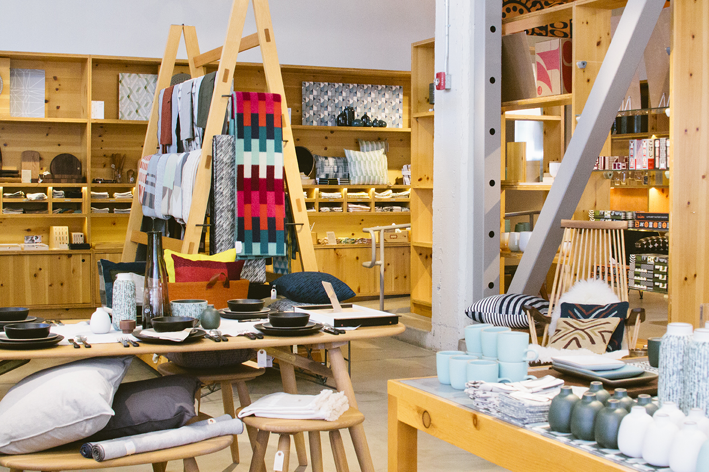 Definitely a place that leaves making you want to only own beautifully designed and carefully produced things.