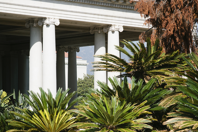 Print Club Ltd. Visits Huntington Gardens in Pasadena, California