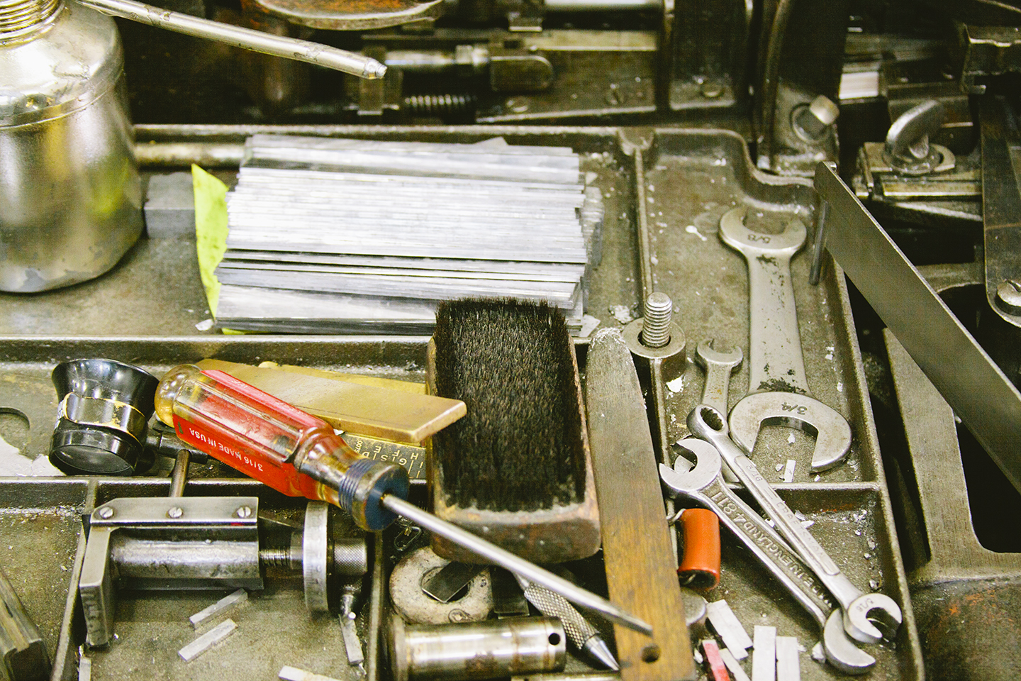 Studio visit at Arion Press and M & H Type from the Print Club Ltd. Journal