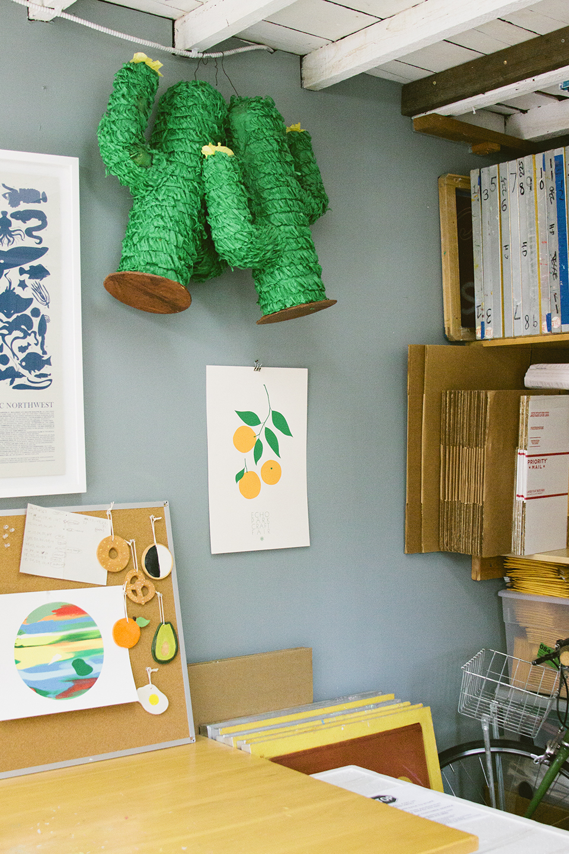 Print Club Ltd. visits the LA studio of Gold Teeth Brooklyn cards