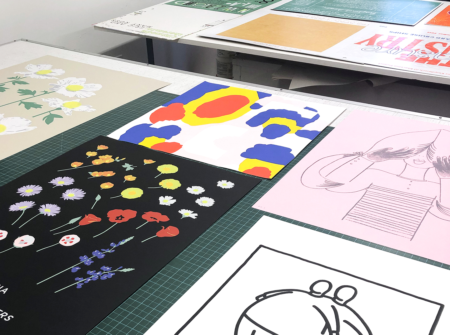 Studio visit with Tom Kracauer in Los Angeles from the Print Club Ltd. Journal