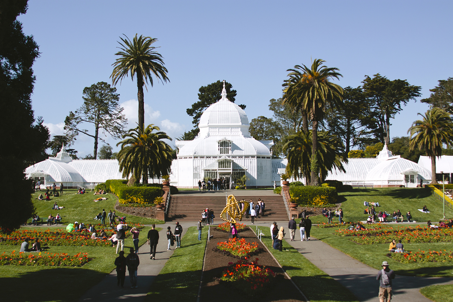 A Walk through the San Francisco Conservatory of Flowers on the Print Club Ltd. Journal
