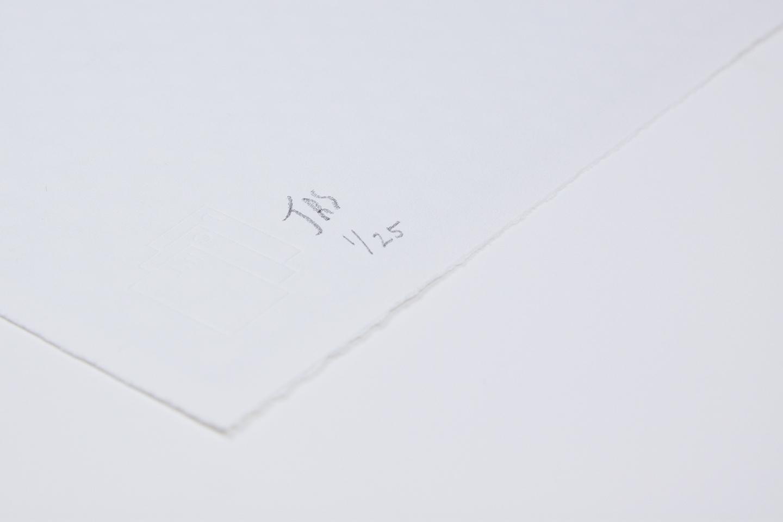 "Jonathan Ryan Storm ""Occ 1"" limited edition silkscreen print, 2016. Edition of 25"