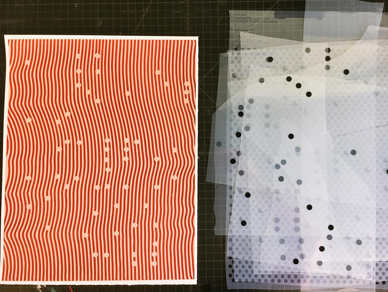 "Jonathan Ryan Storm ""Occ 2"" limited edition silkscreen print, 2016. Edition of 25"