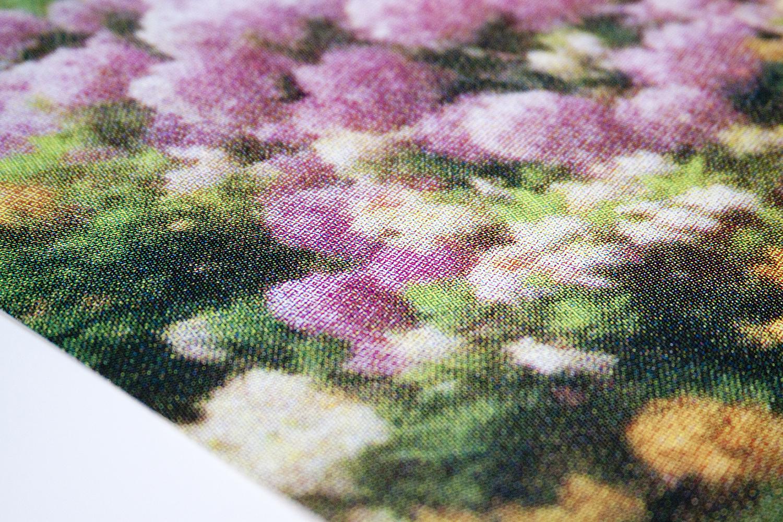 "Print Club Ltd. ""Pink/Orange Florals"" limited edition silkscreen print, 2013. Edition of 30"