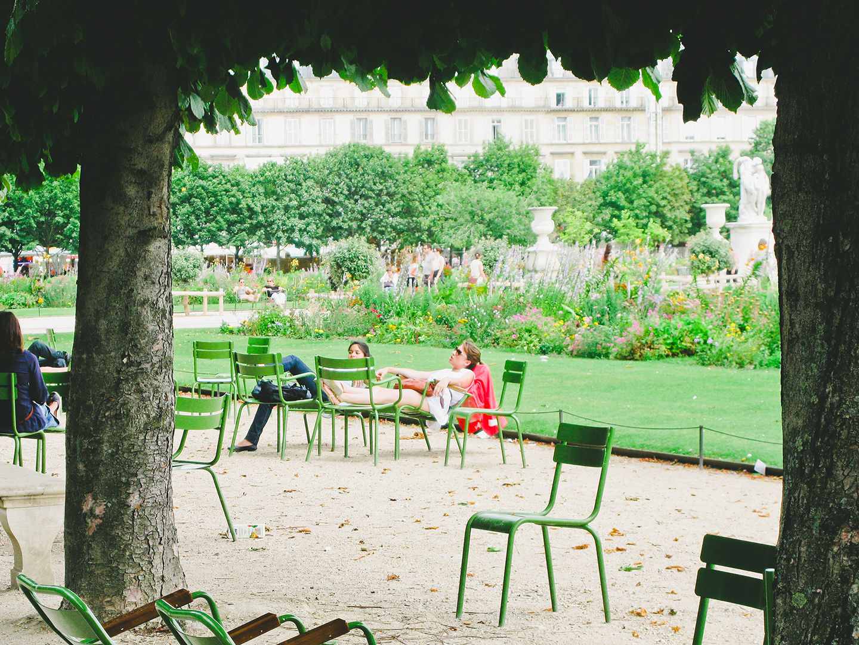 Print Club Ltd. Tours the Tuileries, Paris
