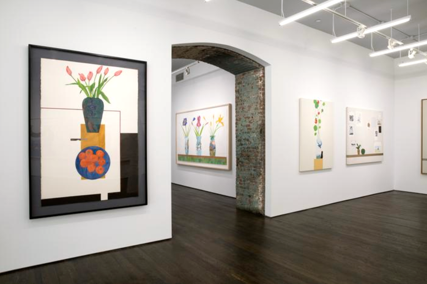 Installation view: Ed Baynard at White Columns, image courtesy of the gallery.